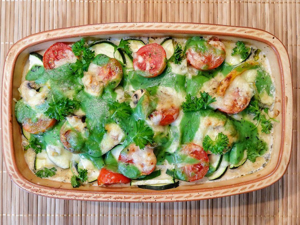 Glutenvrije ovenschotel mozzarella