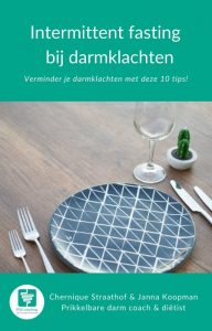 Intermittend fasting gratis ebook bij darmklachten