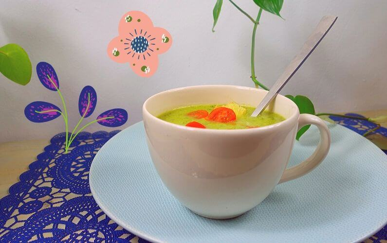 PDS courgettesoep zonder gluten en lactose