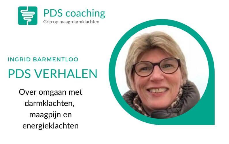PDS verhalen Ingrid omgaan met darmklachten
