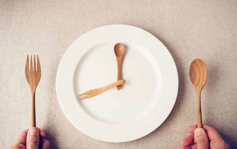 Intermittent fasting goed voor de darmen en PDS