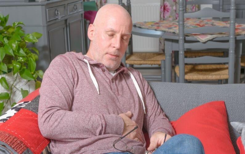 Ervaring van een man met het darmprobleem PDS